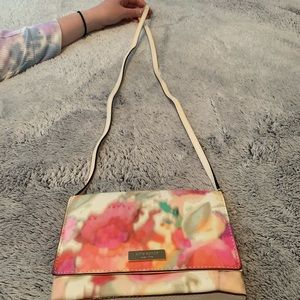 Kate Spade mini floral crossbody purse